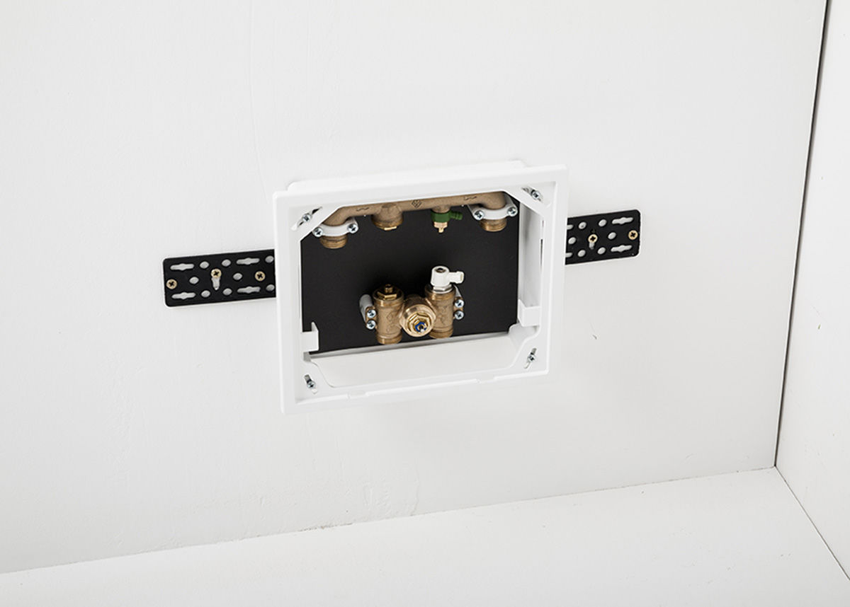 Installing wall heating - control box