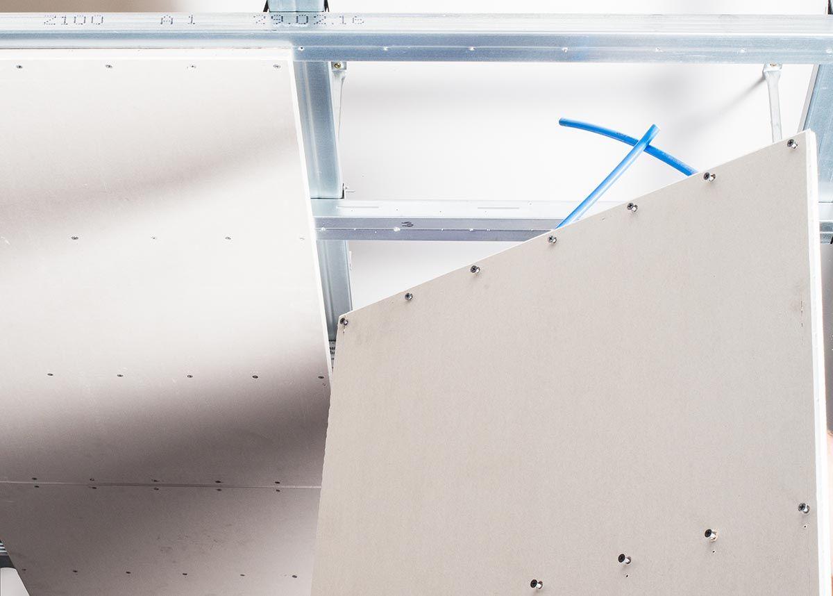 Montage Einer Deckenheizung Im Trockenbau Flexiro Anleitung